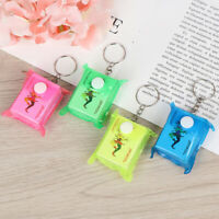4*3cm Portable Mini Playing Cards Keychain Small Poker Board Game Key Chai OQN_N