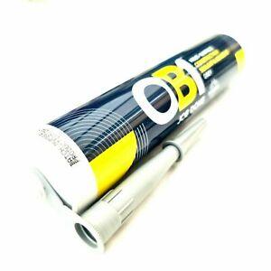 OB1 Gris Impermeable Adhesivo Sellador Construcción Híbrido Silicona 290ml