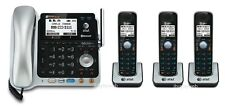 AT&T TL86109 DECT 6.0 2 Line 3 Cordless Phones w/Answering Machine & Bluetooth