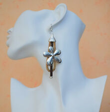 Kork Ohrhänger Ohrringe Cork #2 Korkschmuck, jedes Stück ein Unikat