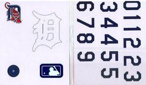 Rawlings Authentic MLB Licensed Batting Helmet Decal Kit - Detroit Tigers