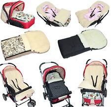 Winterfußsack Fußsack LAMMWOLLE  Baby Kinder für Kinderwagen,  90 cm108 cm