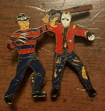 LITTLE LEAGUE PINS: FREDDY KRUGER VS JASON LITTLE LEAGUE PIN ( 2.5 INCH ) NJ12