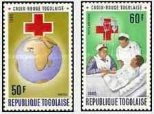 Timbres Santé Médecine Croix Rouge Togo 985 PA422 ** lot 27015