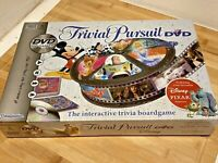 Trivial Pursuit Disney DVD Edition - Board Game By Parker 100% Complete Used