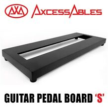AxcessAbles Guitar Pedalboard Single Space Guitar Pedal Board with Carry Bag
