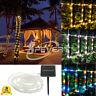 Energia Solare Tubo/Corda /Striscia a LED Luce Giardino Lampada da festa nuziale