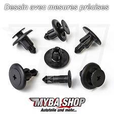 10x serrure panneaux barres moulures clips de fixation pour Opel zafira a