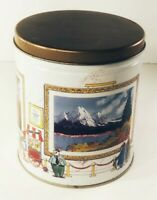collectors tin Trails end Gourmet popcorn Advertising Art contest edition Round
