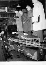 CADAVRE Crime Police ALGERIEN Politique Guerre Paris Fait divers Photo 1959