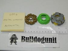 Beyblade Authentic Metal Wheel Lot of 3 Parts Only Takara Tomy Lot 6