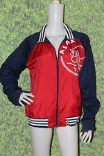 ADIDAS Men's Red Windbreaker / Varsity Jacket Size: M
