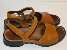 vintage CHAUSSURE sandale CLARKS shoes TAILLE 37 size UK 4.5 CUIR sandal LEATHER