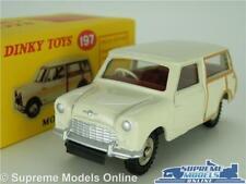 Morris Mini Traveller Car Model Dinky 1 43 Size 197 Atlas Woody Cream Austin T3