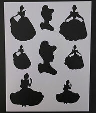 """Disney Cinderella 8.5""""x11"""" Custom Stencil FAST FREE SHIPPING"""