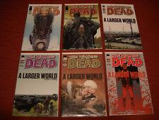 "The Walking Dead #91-96 ""A Larger World"" NM+ Image Comics 2011-2012 Jesus"