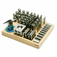 56pc Jumbo Dapping Doming Punch Set Steel Made Swage Pro Jewelry Forming Kit