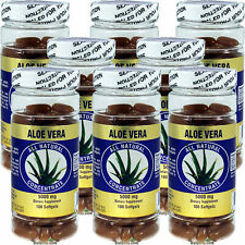 8 x Aloe Vera 5000 mg 100 SGels, All Natural Concentrate Gel, FREE US SHIPPING