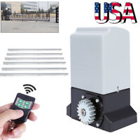 Sliding Gate Opener Electric Operator Rack Security Kit Automatic Motor Roller