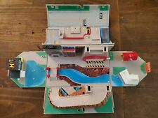 Micro Machines Super City Toolbox 1988 Galoob Vintage Playset Fold Out W/ Toys