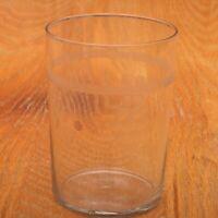 Small Clear Grape Pattern Tumbler Juice Glass