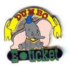 Disney Wdw - Dumbo E-Ticket Authentic pin