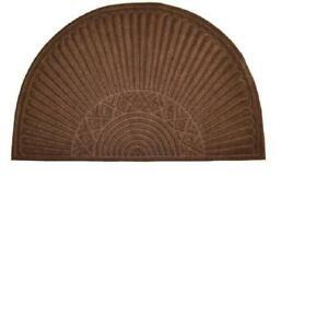 Imports Decor 867SMT Brown Half Round Door Mat