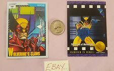 91 Impel 138 Wolverine Claws 93 Skybox 98 TV Series 2 Lot Trading Card