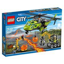 LEGO 60123 L'hélicoptère d'approvisionnement du volcan CITY ++ 100% NEUF NEW ++
