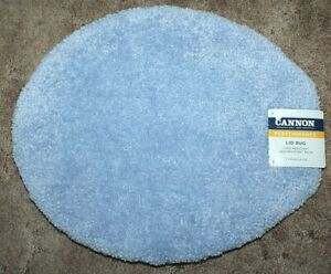 Cannon Performance Quick Dry Toilet Bowl Seat Lid Cover - Periwinkle