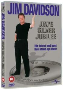 Jim Davidson: Jim's Silver Jubilee Dvd Brand New & Factory Sealed (2002)