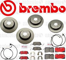 Brembo Complete Brake Rotors+Pads Kit+Sensors:Rover Sport Supercharge 2006