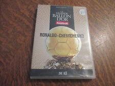 dvd la legende du ballon d'or n° 1 ronaldo - chevtchenko
