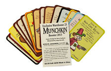 Munchkin Exclusive Warehouse 23 2013 Booster Pack Steve Jackson Games New