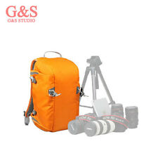 Fashion Orange Photography SLR camera bag Backpack + raincover for canon nikon