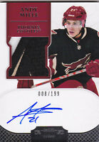 11-12 Dominion Andy Miele /199 Auto PATCH Rookie 4 Color Autograph RC 2011