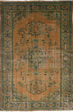 "Hand-knotted Turkish Carpet 5'10"" x 9'3"" Anadol Vintage Wool Rug...DISCOUNTED!"