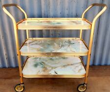 Vintage Retro 50s 60s Hostess Serving Tea Trolley Three Tier Mid Century #A