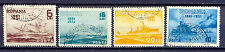 Los barcos, ships-rumania - 402-405 o con sello used 1931