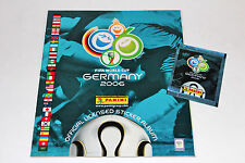 PANINI WC WM GERMANY 2006 – LEERALBUM EMPTY ALBUM vuoto compresseur Eastern Euro...