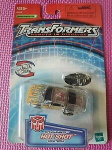 Transformers Robots in Disguise R.I.D. Spy Changers HOT SHOT 2003 WORLDWIDE NIB