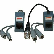 VideoSecu Audio Video Power Balun Network Transceiver for CCTV Camera 1 PAIR