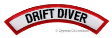 New listing DRIFT DIVER CHEVRON - SCUBA DIVING iron-on DIVE CERTIFICATION PATCH embroidered