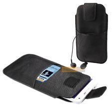 Etui Housse POCKET BAG Noir / ALCATEL Pixi 4 (6), A3 XL, A7 XL