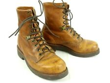 Chippewa 23710 Leather Lace up Boots Brown 7.5 EE