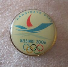 2006 HELSINKI WINTER OLYMPICS BID PIN