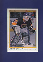 Curtis Joseph RC 1990-91 O-PEE-CHEE OPC Premier Hockey #51 (NM+) St. Louis Blues