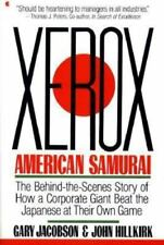 Xerox: American Samurai Jacobson , Suzanne Snyder Paperback Used - Good