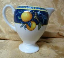 New Old Stock  NOS Wedgwood Bone China CITRONS Globe Creamer Made in England