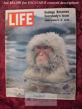 LIFE January 30 1970 Jan 1/30/70 ECOLOGY Environmentalism LAURA NYRO W H AUDEN +
